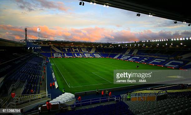A general view of St Andrews Stadium home of Birmingham City before the Sky Bet Championship match between Birmingham City and Preston North End at...