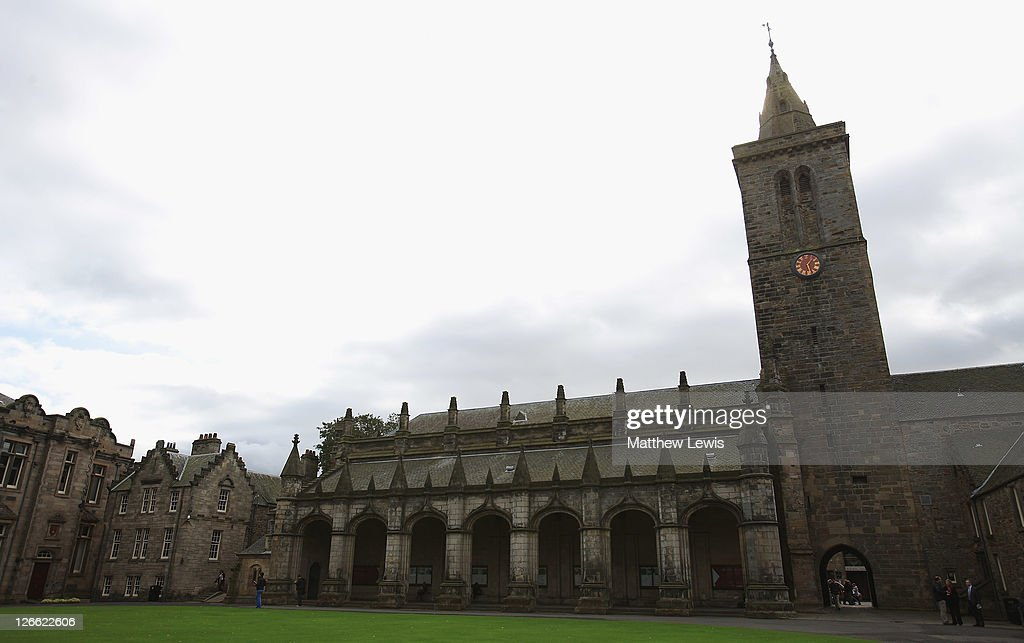 A general view of St Andrews University prior to the start of The Alfred Dunhill Links Championship at The Old Course on September 26 2011 in St...