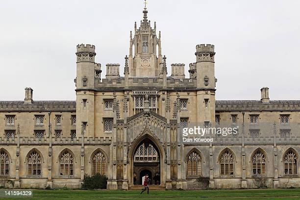 A general view of St John's College on March 13 2012 in Cambridge England Cambridge has a student population in excess of 22000 spread over 31...