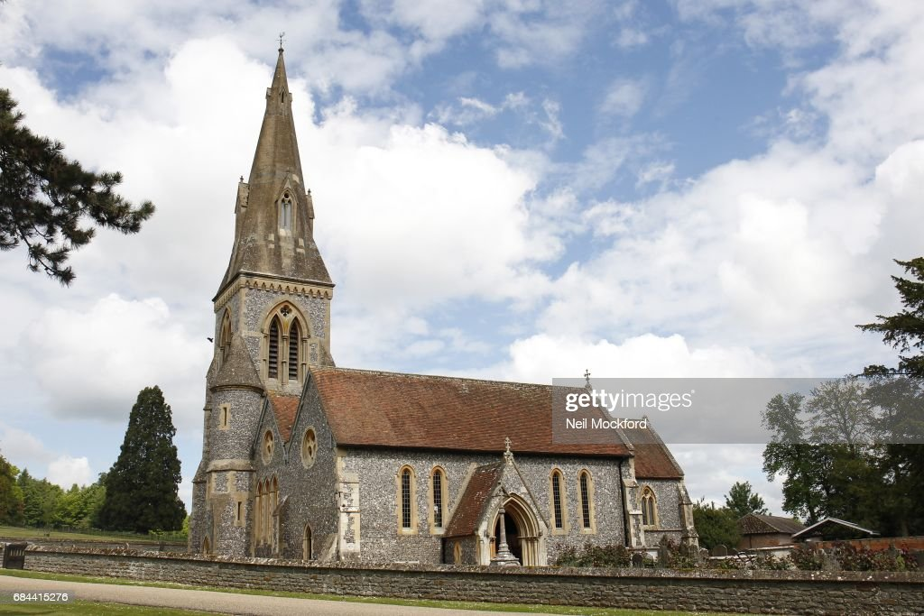 General View of St Mark's Church in Englefield, where Pippa Middleton and James Matthew are planning on getting married on May 18, 2017 in Englefield, Berkshire.
