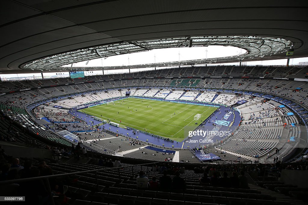 General views of stade de france uefa euro venues france 2016 getty images - Stade de france superficie ...