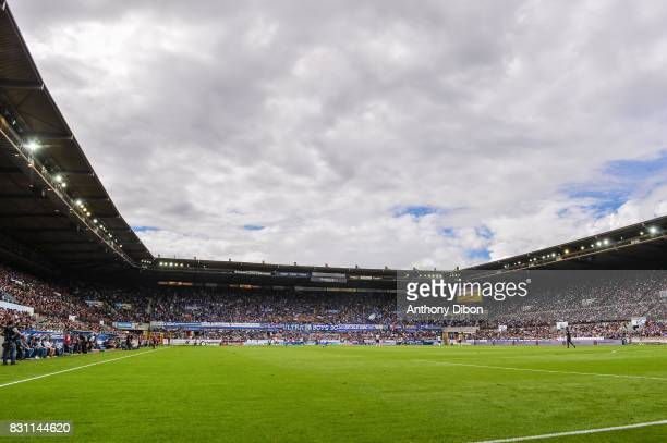General view of Stade de la Maineau during the Ligue 1 match between Racing Club Strasbourg and Lille OSC at Stade de la Meinau on August 13 2017 in...
