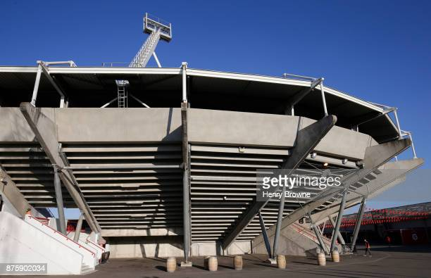 General view of Stade Ernest Wallon during the international match between Japan and Tonga at Stade Ernest Wallon on November 18 2017 in Toulouse...