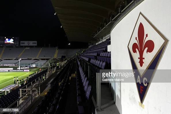 General view of Stadio Artemio Franchi before the UEFA Europa League group K match between ACF Fiorentina and FC Dinamo Minsk on December 11 2014 in...