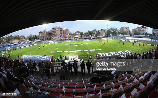 A general view of stadium during the Serie B match between Carpi FC and FC Bari at Stadio Sandro Cabassi on April 28 2015 in Carpi Italy
