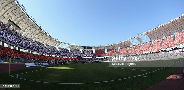 A general view of stadium during the Serie B playoff match between AS Bari and US Latina at Stadio San Nicola on June 8 2014 in Bari Italy