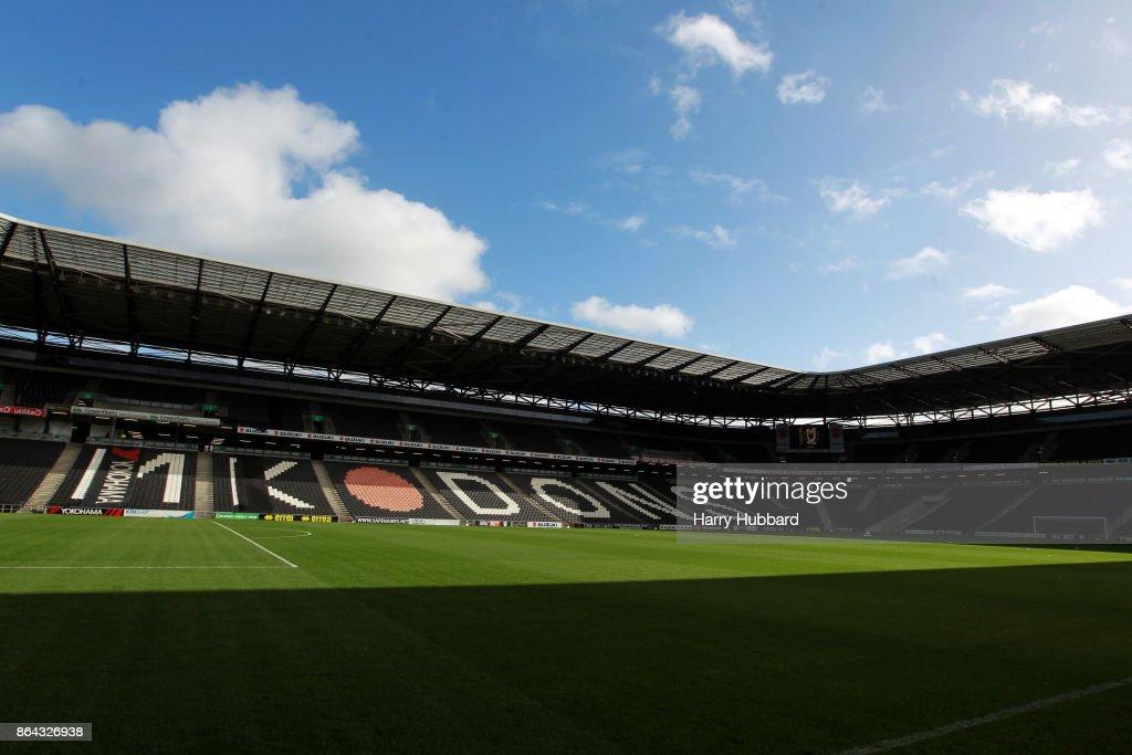Milton Keynes Dons v Oldham Athletic - Sky Bet League One