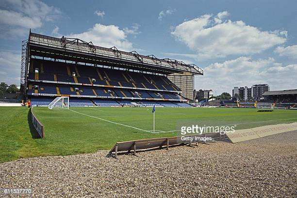 A general view of Stamford Bridge of Chelsea FC circa 1991 in London England