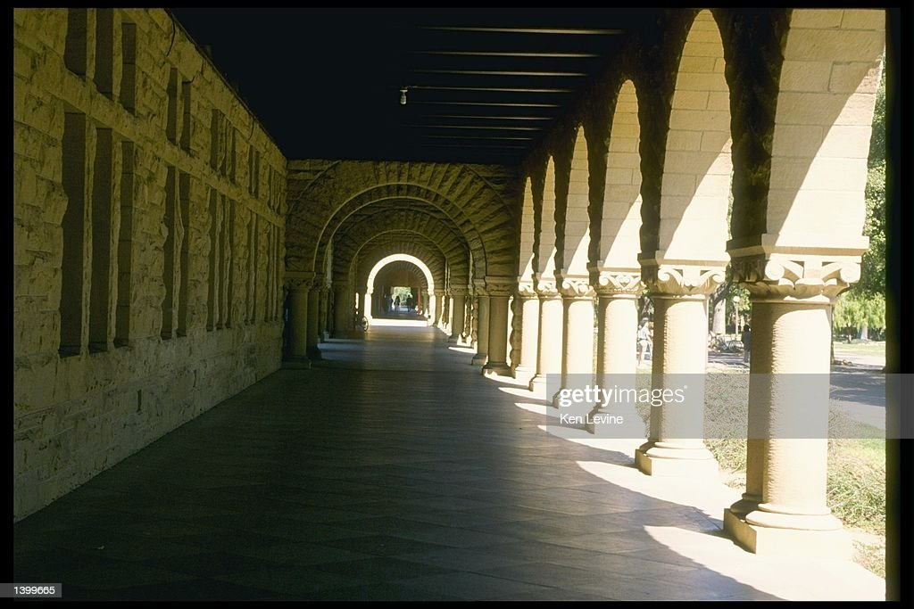 General view of Stanford University campus in Stanford California Mandatory Credit Ken Levine /Allsport