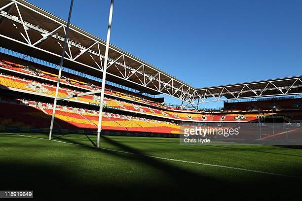 General view of Suncorp Stadium on July 8 2011 in Brisbane Australia