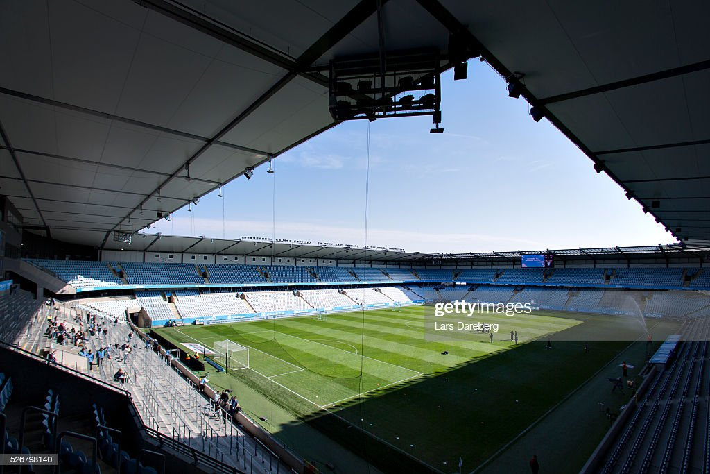 General view of Swedbank Stadion before the Allsvenskan match between Malmo FF and BK Hacken at Swedbank Stadion on May 1, 2016 in Malmo, Sweden.