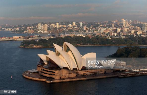 General view of Sydney Opera House on June 13 2013 in Sydney Australia