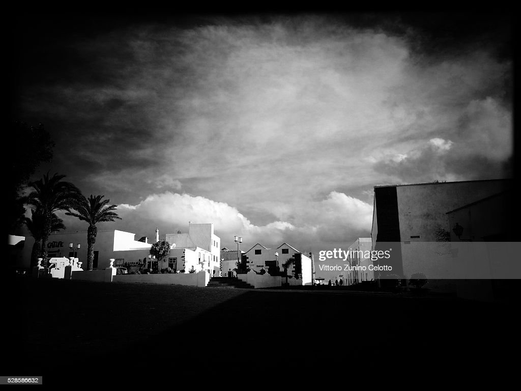 A general view of Teguise on April 21, 2016 in Lanzarote, Spain.