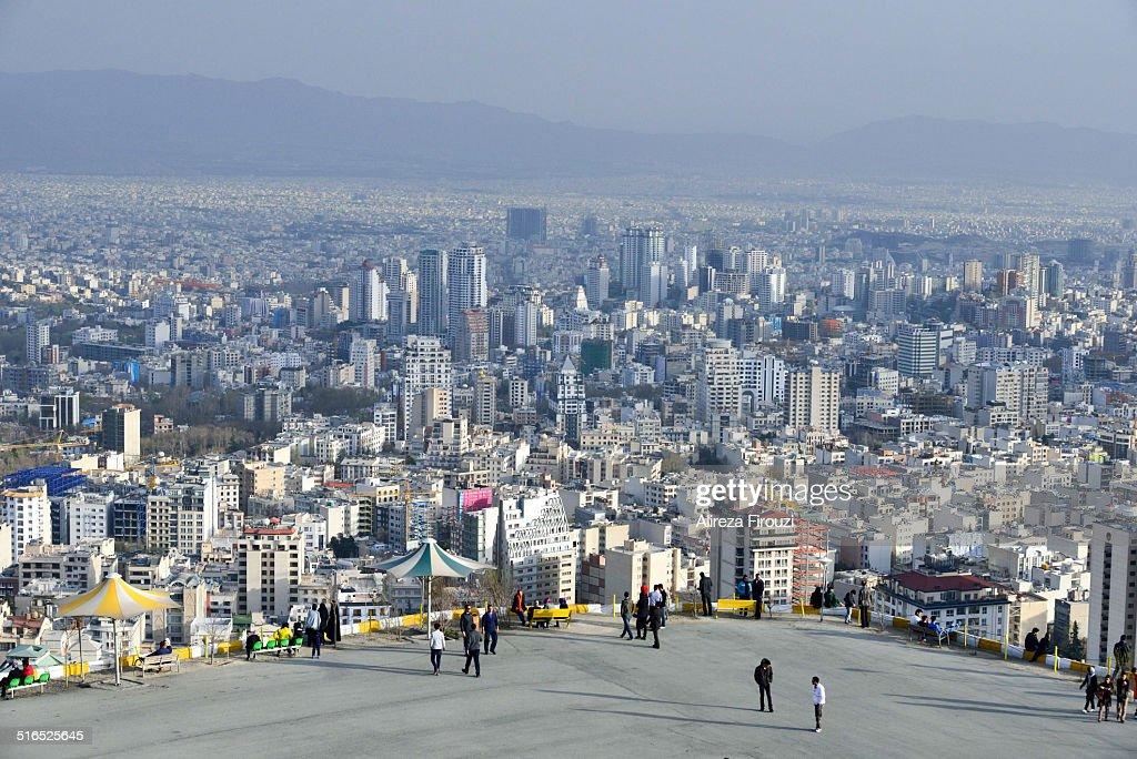 General view of Tehran