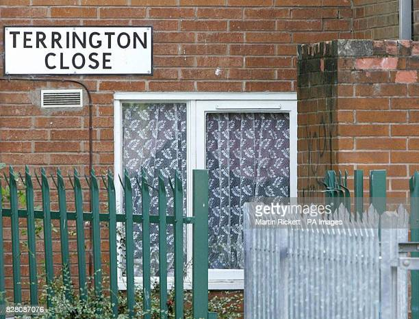 A general view of Terrington Close Chorlton where a sixyearold boy was found by his father murdered in his bedroom police said Thursday 1 September...