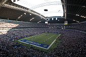 A general view of Texas Stadium during the game between the Dallas Cowboys and the Washington Redskins on September 28 2008 in Irving Texas The...