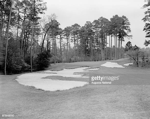 A general view of the 10th hole at Augusta National Golf Club in April in Augusta Georgia