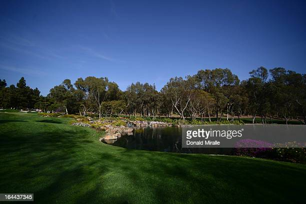 General view of the 11th hole during Round Three the LPGA 2013 Kia Classic at the Park Hyatt Aviara Resort in Carlsbad California on March 23 2013