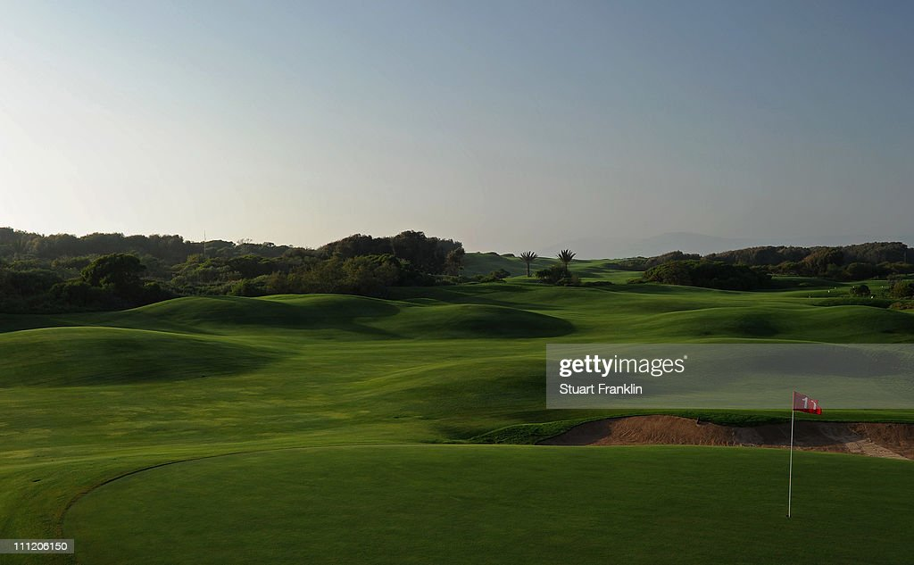 A general view of the 11th hole prior to the start of the Trophee du Hassan II Golf at the Golf du Palais Royal on March 30 2011 in Agadir Morocco