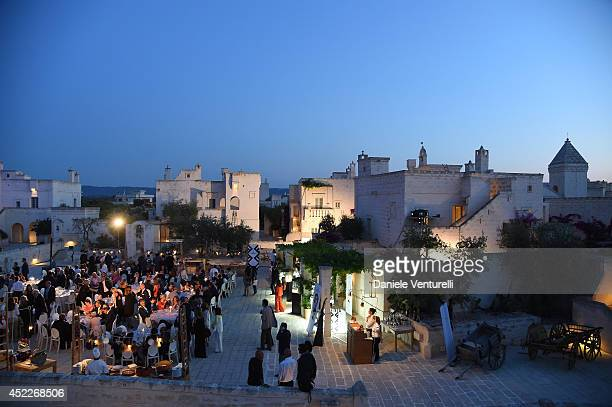 General view of the 12th Salento Finibus Terrae sponsors by Baume Mercier at Borgo Egnazia on July 16 2014 in Brindisi Italy