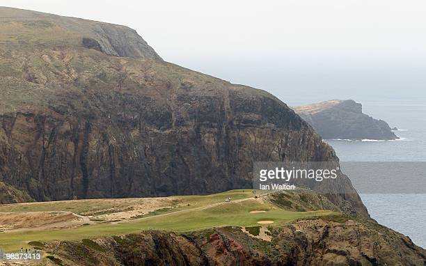 General view of the 13th hole during the 3rd round of the Madeira Islands Open at the Porto Santo golf club on April 10 2010 in Porto Santo Island...