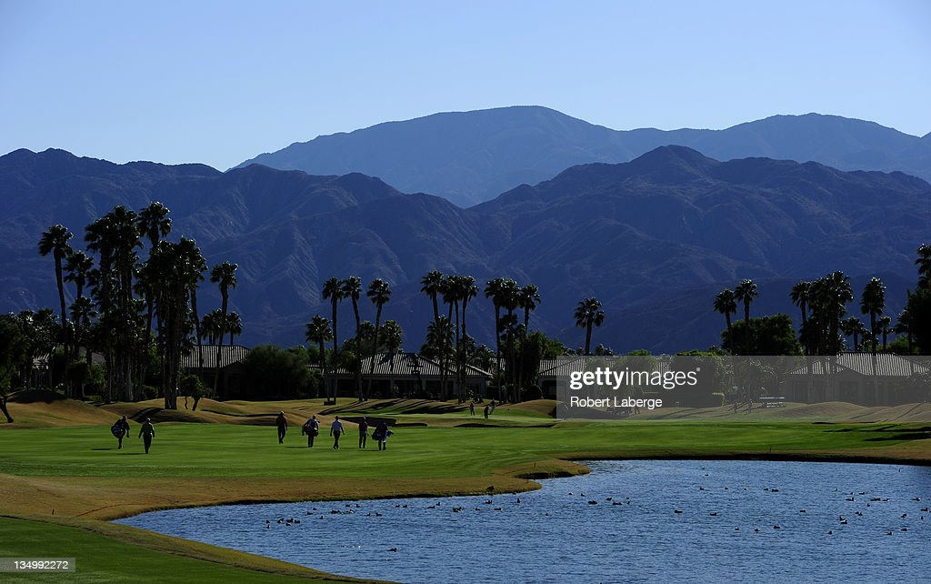 General view of the 16th fairway makes a tee shot during the final round of the 2011 PGA Tour Qualifying Tournament on December 5 2011 at the PGA...