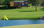 A general view of the 16th hole during the third round of the Justin Timberlake Shriners Hospitals for Children Open at the TPC Summerlin on October...