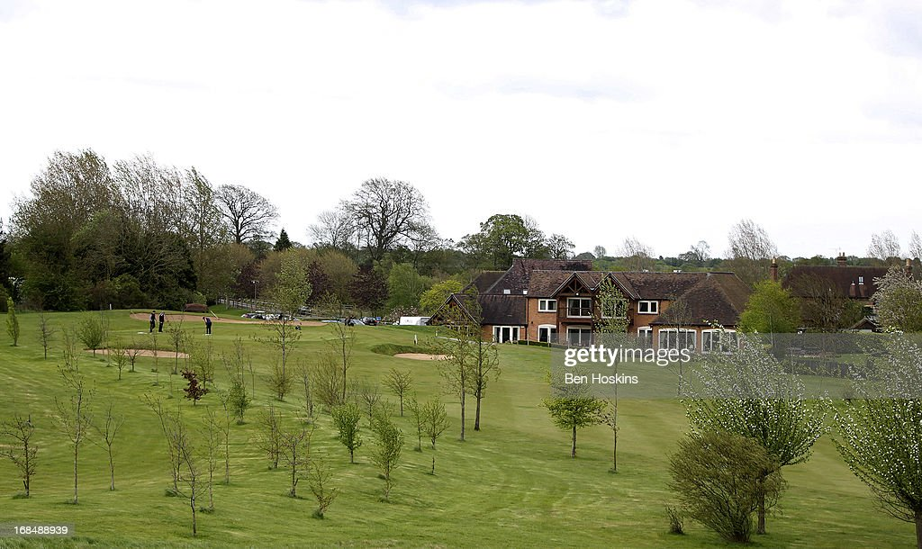 A general view of the 18th hole during the Powerade PGA Assistants' Championship Regional Qualifier at the Henley Golf and Country Club on May 09, 2013 in Henley-in-Arden, England.