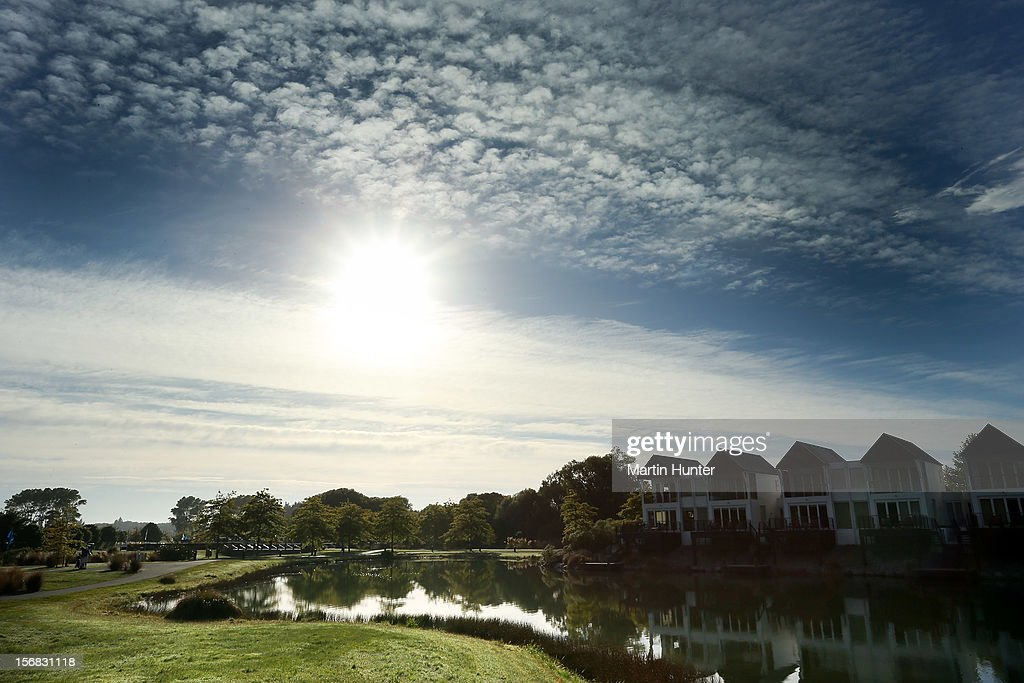 General view of the 1st tee during day two of the New Zealand Open Championship at Clearwater Golf Course on November 23, 2012 in Christchurch, New Zealand.