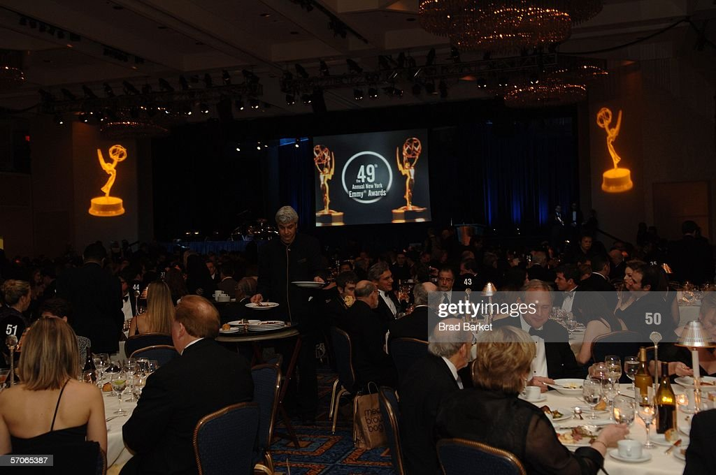 A general view of the 2006 New York Emmy Awards at the the Marriott Marquis on March 12, 2006 in New York City.