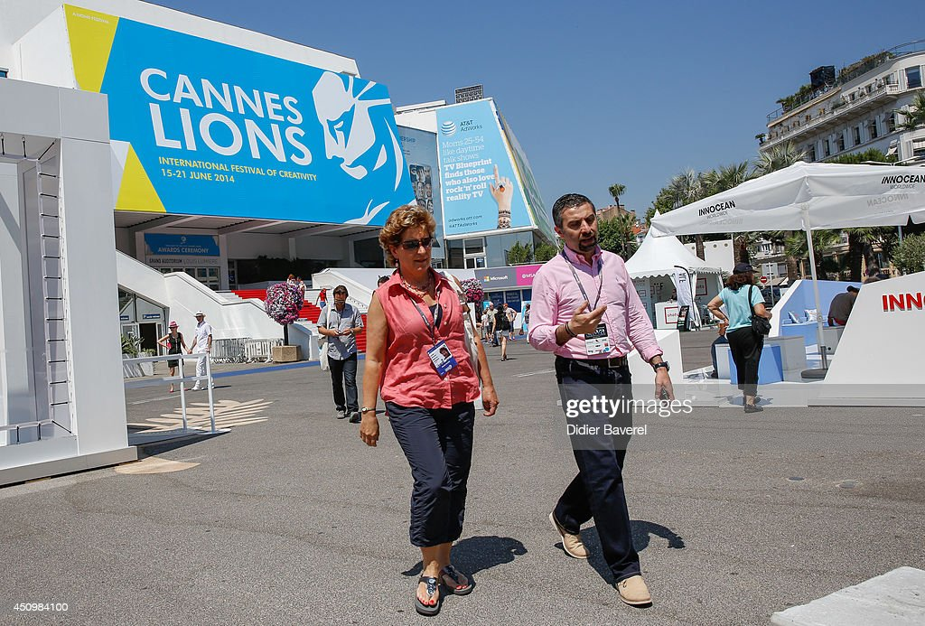 General view of the 2014 Cannes Lions on June 21, 2014 in Cannes, France.