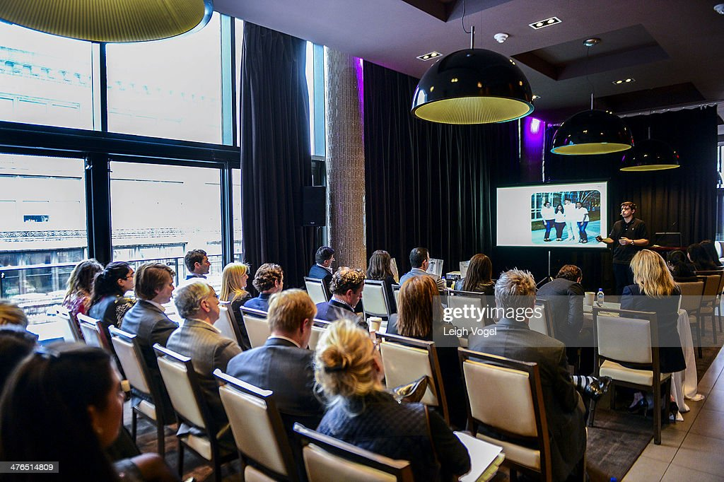 General view of the 2014 EDENS Retail Challenge at Gansevoort Park Hotel on March 3, 2014 in New York City.
