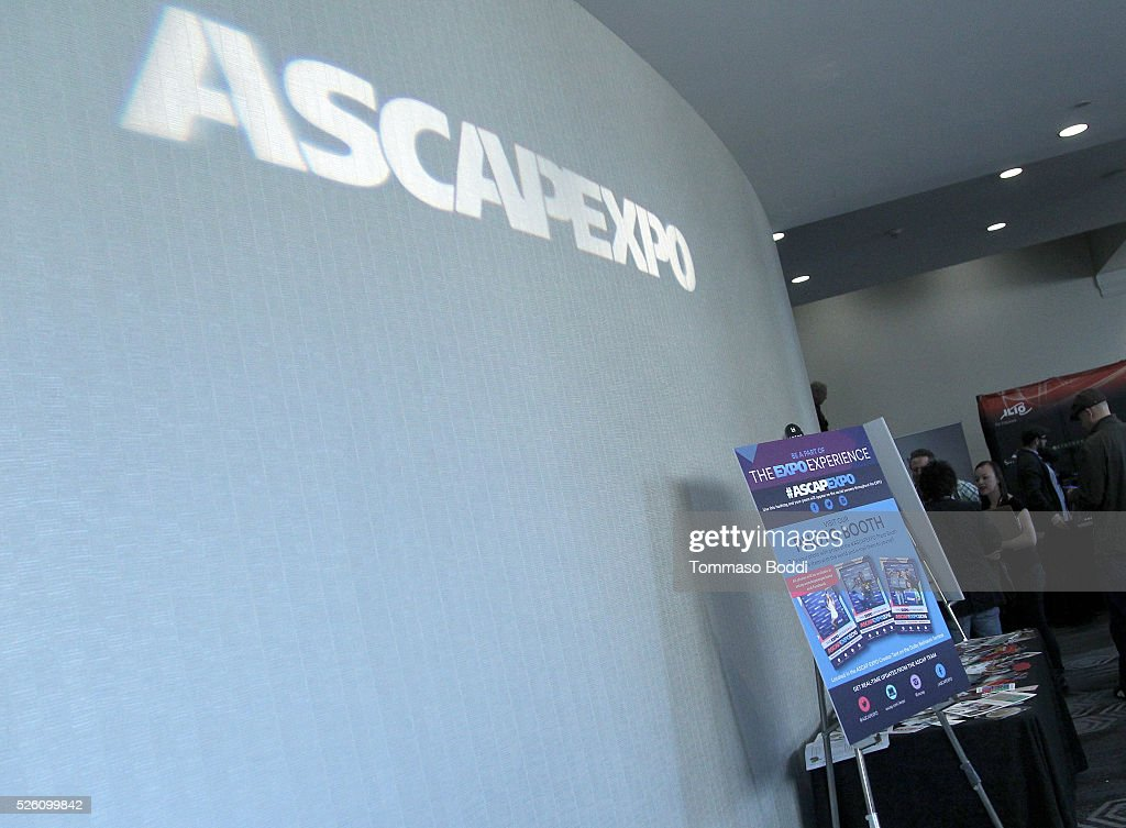 General view of the 2016 ASCAP 'I Create Music' EXPO on April 29, 2016 in Los Angeles, California.