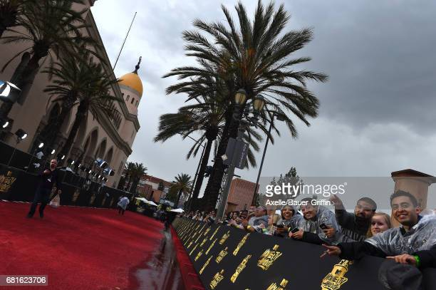 A general view of the 2017 MTV Movie and TV Awards at The Shrine Auditorium on May 7 2017 in Los Angeles California