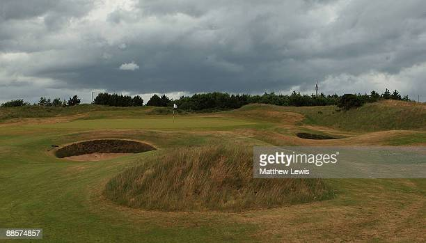 A general view of the 2nd hole during the Glenmuir PGA Professional Championship at Dundonald Links on June 18 2009 in Dundonald Scotland