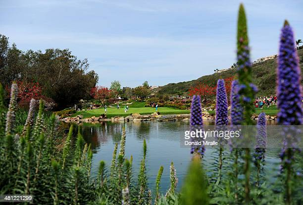 A general view of the 3rd green during the second round of the KIA Classic at the Park Hyatt Aviara Resort on March 28 2014 in Carlsbad California