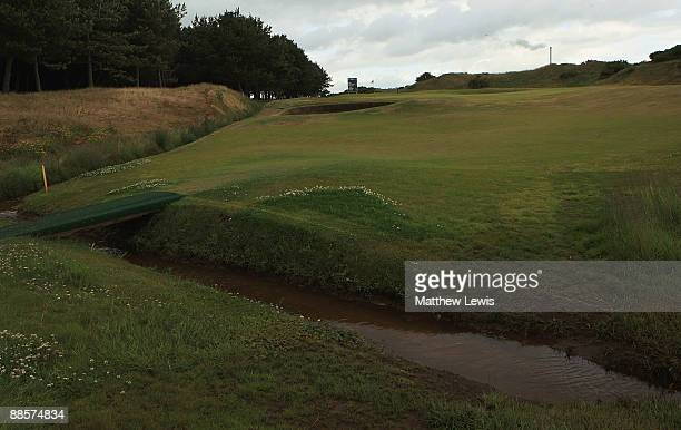 A general view of the 6th hole during the Glenmuir PGA Professional Championship at Dundonald Links on June 18 2009 in Dundonald Scotland