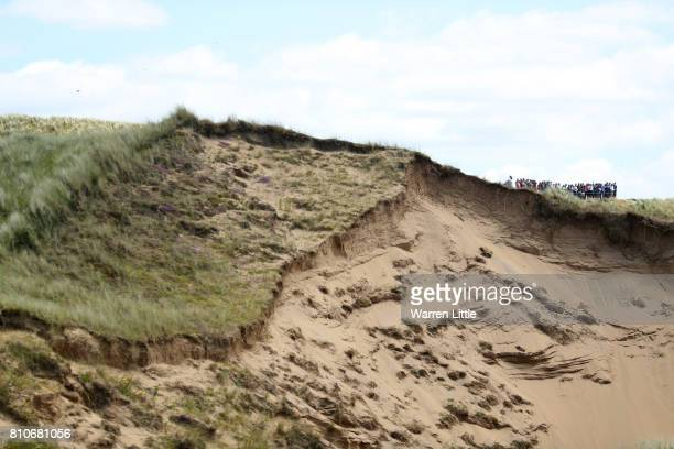 General View of the 7th hole during day three of the Dubai Duty Free Irish Open at Portstewart Golf Club on July 8 2017 in Londonderry Northern...