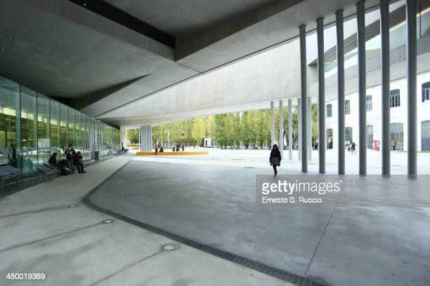 A general view of the 8th Rome Film Festival at the Maxxi Museum on November 16 2013 in Rome Italy