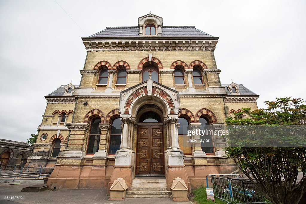 A general view of The Abbey Mills pumping station in Stratford on May 25, 2016 in London, England. The Grade II listed building, designed by British engineer Joseph Bazalgette to lift sewage from the low-lying areas of north London, was completed in 1868. Thames Water marks Sewage Week this week with a series of events inviting members of the public down into the underground sewer network and around the Abbey Mills pumping station in east London.