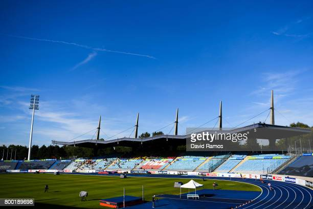General view of the action during day 1 of the European Athletics Team Championships at the Lille Metropole stadium on June 23 2017 in Lille France