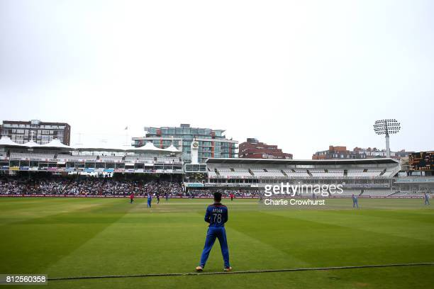A general view of the action during the MCC v Afghanistan cricket match at Lord's Cricket Ground on July 11 2017 in London England