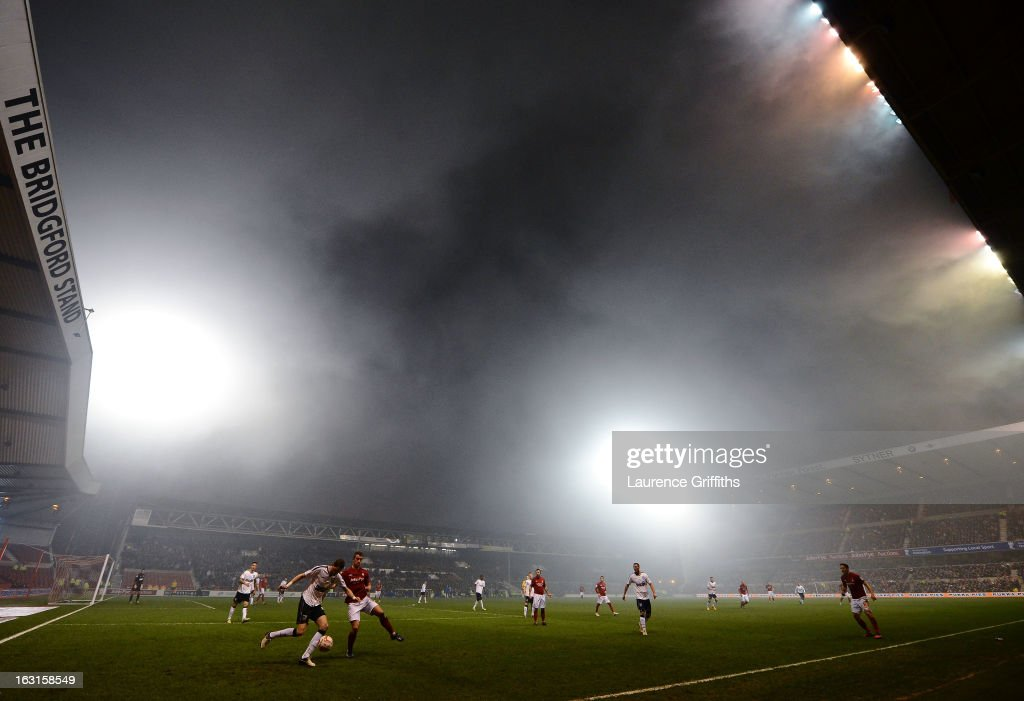 A general view of the action during the npower Championship match between Nottingham Forest and Ipswich Town at City Ground on March 5, 2013 in Nottingham, England.