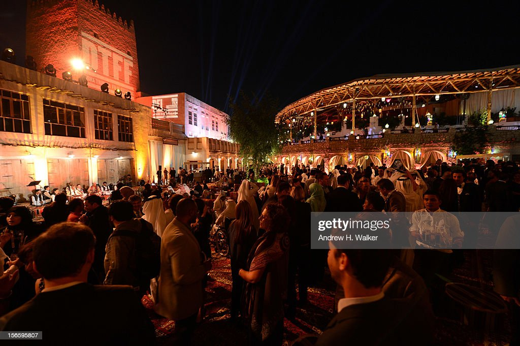 A general view of the after party for the opening night ceremony and gala screening of 'The Reluctant Fundamentalist' during the 2012 Doha Tribeca Film Festival at Al Mirqab Hotel on November 17, 2012 in Doha, Qatar.