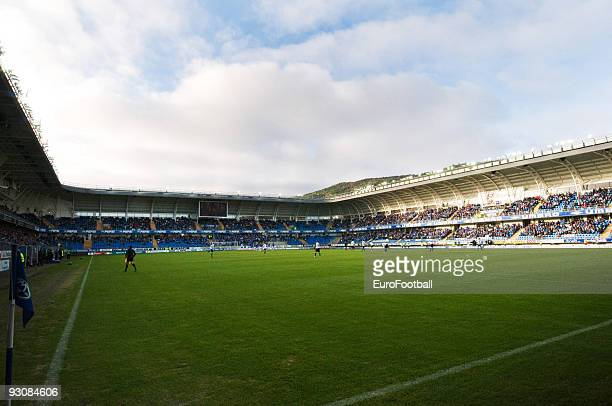 General view of the Aker Stadion taken during the Norwegian Tippeligaen match between Molde FK and Stabaek IF held on October 17 2009 at the Aker...