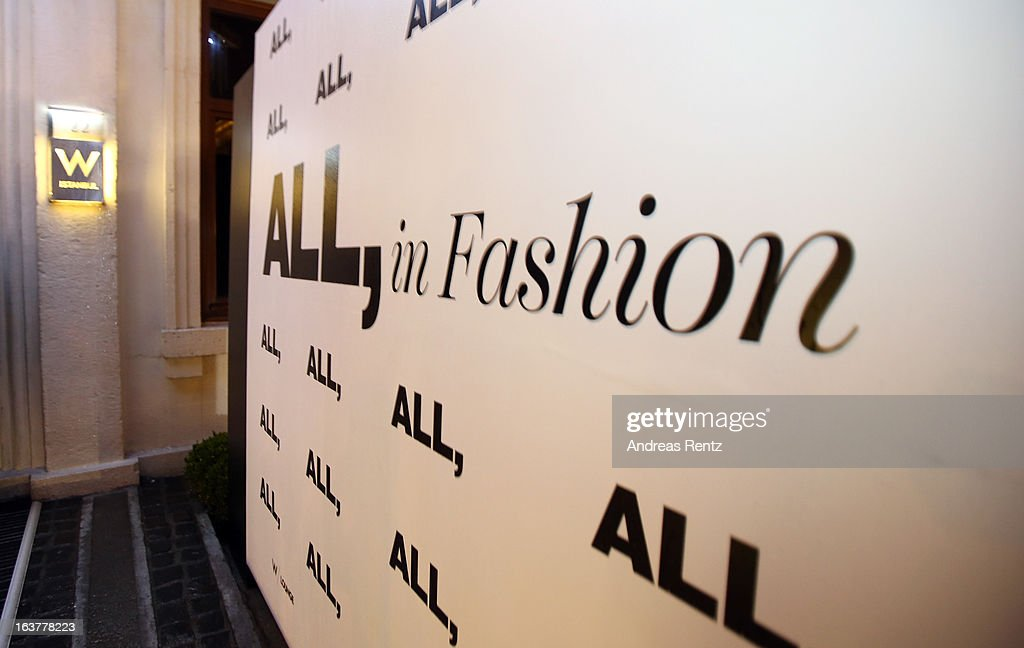 A general view of the All In Fashion (Volume 1) Party during Mercedes-Benz Fashion Week Istanbul Fall/Winter 2013/14 at the W Hotel on March 15, 2013 in Istanbul, Turkey.