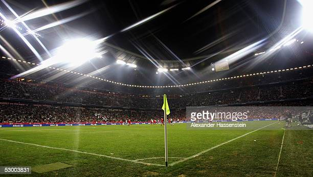 A general view of the Allianz Arena during the opening game of the Allianz Arena between Bayern Munich and German Football National Team at the...
