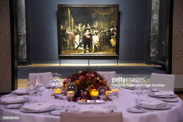 General view of the Amsterdam AMADE Gala launch at Rijksmuseum on November 7 2014 in Amsterdam Netherlands