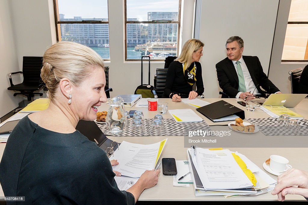 General view of the AOC Executive Board Meeting at Museum of Contemporary Art on June 30, 2016 in Sydney, Australia. Australian target shooter Michael Diamond fronts the AOC board in bid for Rio Olympic selection.