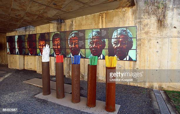 General view of the Apartheid museum on June 13 2009 in Johannesburg South Africa